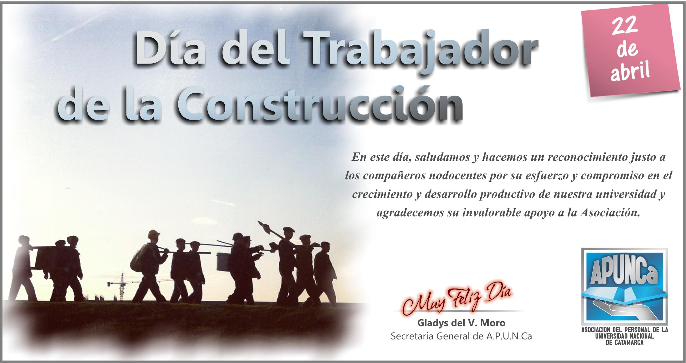 Día del Trabajador de la Construcción - APUNCA