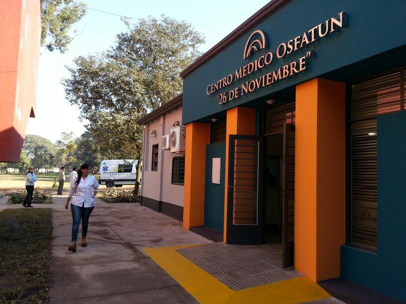 Inauguración del Centro Medico OSFATUN en Tucuman