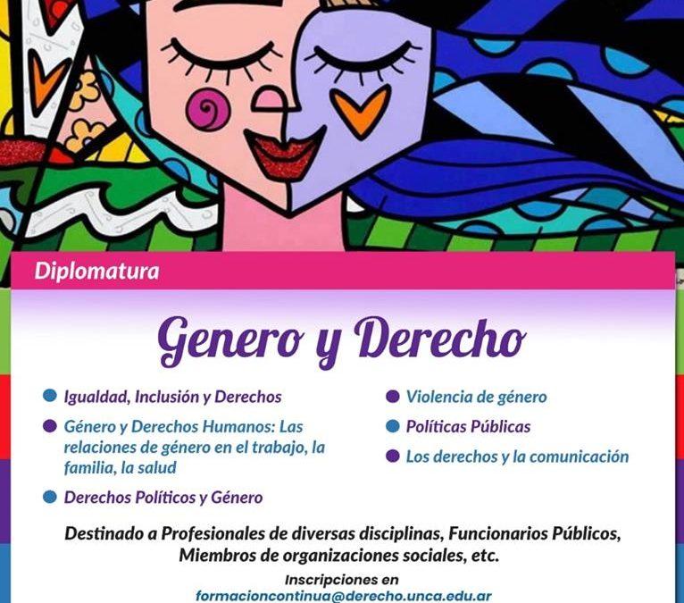 DIPLOMATURA DE GÉNERO Y DERECHO