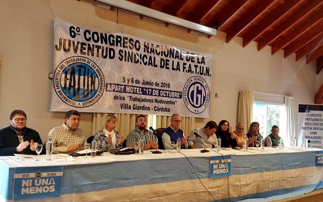 Apertura del Congreso Nacional de la Juventud Sindical de la FATUN