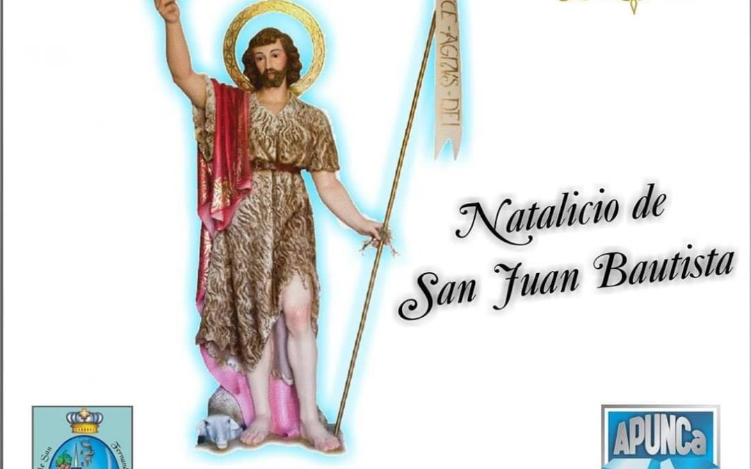 24 de Junio – Natalicio de San Juan Bautista