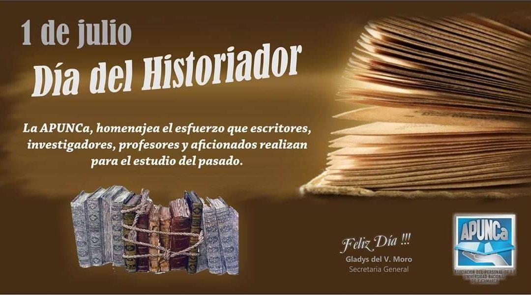 FELIZ DÍA A TODOS LOS COMPAÑEROS Y AMIGOS HISTORIADORES !!!