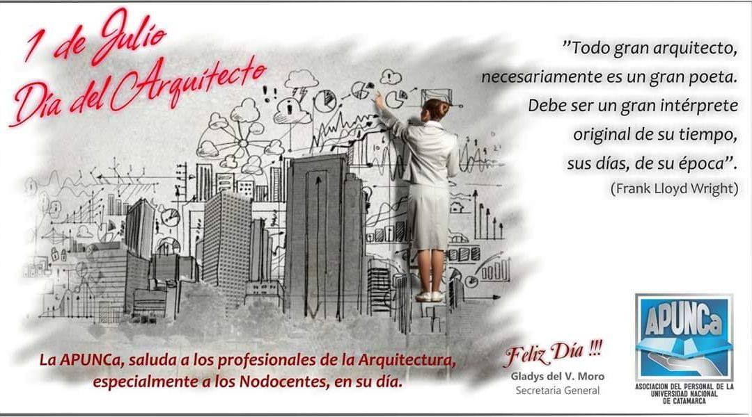 FELIZ DÍA A TODOS LOS ARQUITECTOS !!!!