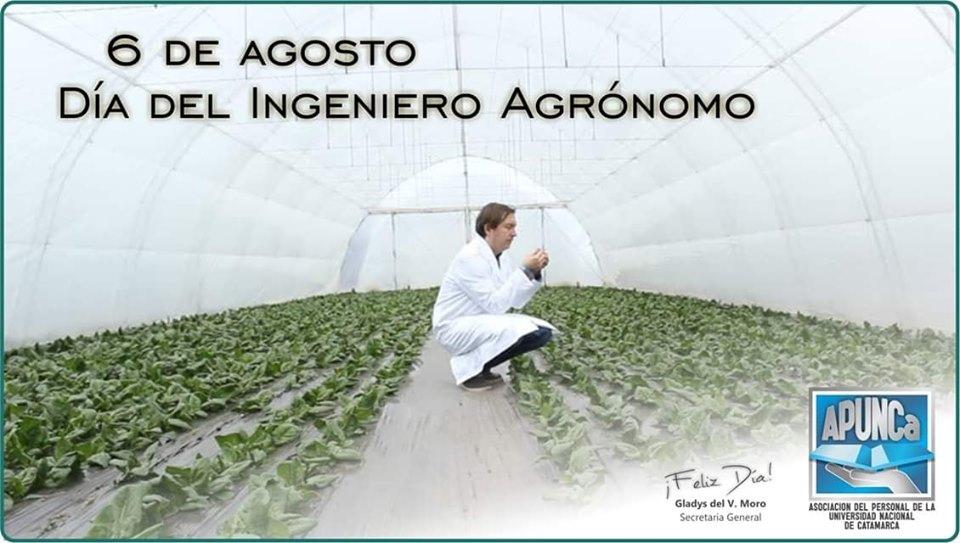 Feliz día a todos los Compañeros y Amigos, Ing Agrónomos!!!!