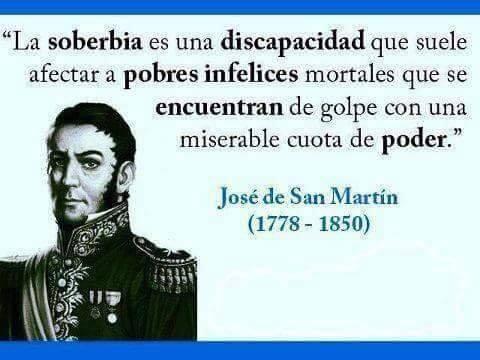 17 de Agosto Nuestro homenaje al General José de San Martín en el 169° aniversario de su paso a la inmortalidad.