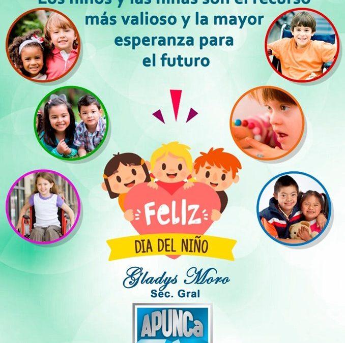 FELIZ DIA DEL NIÑO!!!! Les desea la Comisión Directiva de APUNCa.
