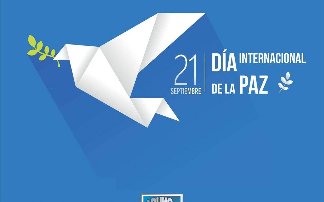 21 de Septimbre, Día internacional de la Paz