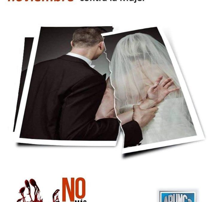 25 de Noviembre – Día Internacional para la Eliminación de la Violencia contra la Mujer
