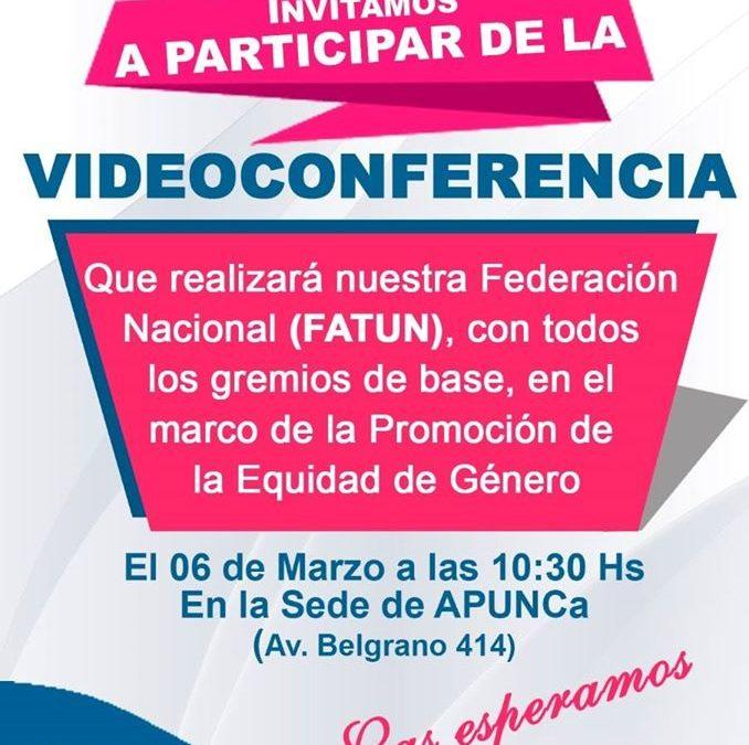 Videoconferencia de FATUN
