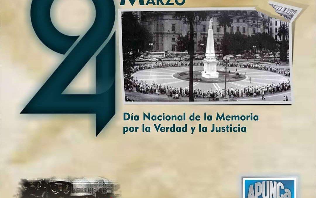 24 de marzo – Día Nacional de la Memoria por la Verdad y la Justicia:
