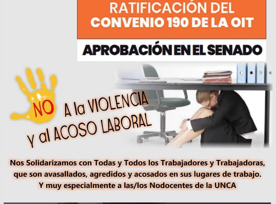 BASTA DE VIOLENCIA Y ACOSO LABORAL