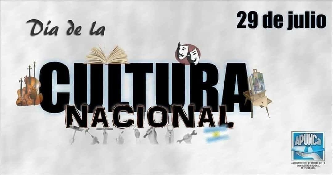 Feliz Día de la Cultura Nacional