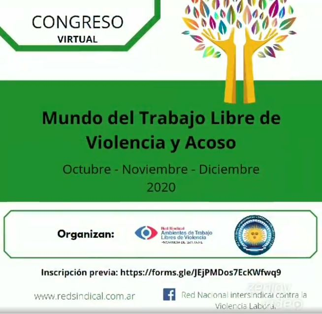 Congreso Internacional, «Por un Mundo Libre de Violencia Laboral'