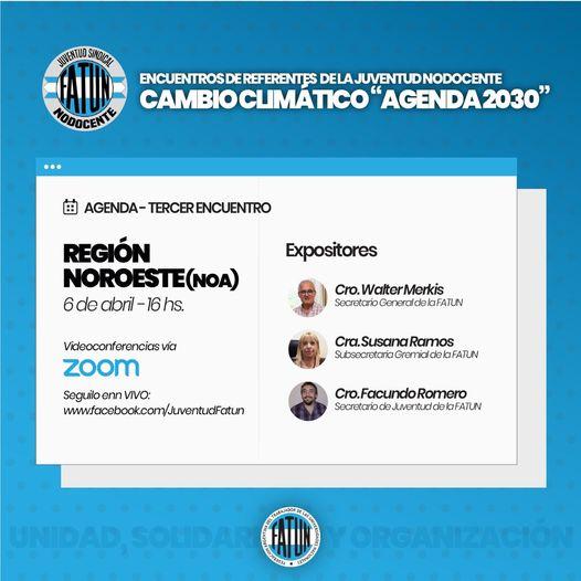 Cambio climático «Agenda 2030»