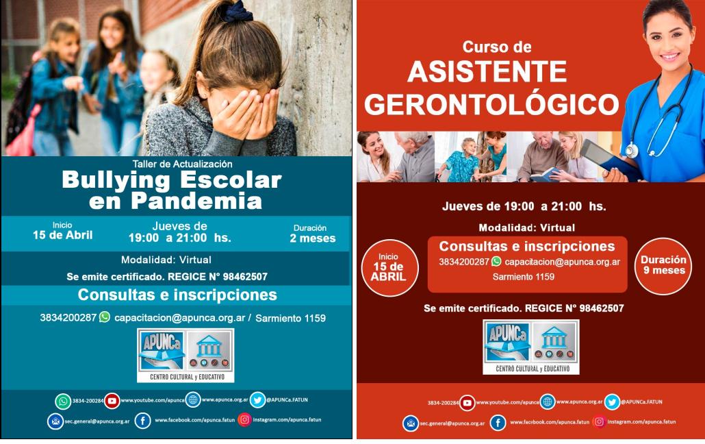 CENTRO CULTURAL Y EDUCATIVO DE APUNCa